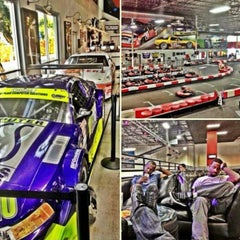 Photo taken at K1 Speed Anaheim by Adrian B. on 3/9/2013