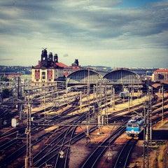Photo taken at Praha hlavní nádraží | Prague Main Railway Station by Sandysosasa on 6/30/2013