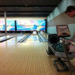 Photo taken at Strikerz Entertainment Center by Jason M. on 12/20/2012