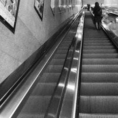 Photo taken at MTR Kowloon Bay Station 九龍灣站 by Willo O. on 5/27/2015