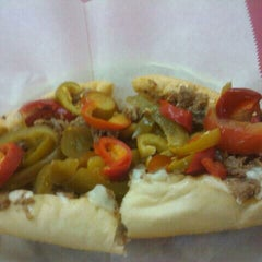 Photo taken at Cheese Steak Shop by Christina C. on 10/19/2011