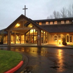 Photo taken at St John the Baptist Church by Barb on 12/30/2012