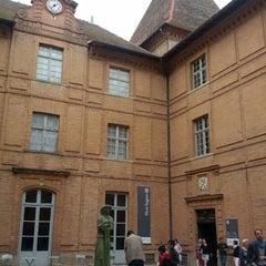 Photo taken at Musée Ingres by Simon O. on 9/15/2012