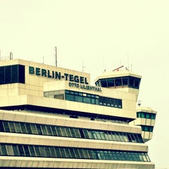 Photo taken at Berlin-Tegel Airport Otto Lilienthal (TXL) by Onur K. on 5/3/2013