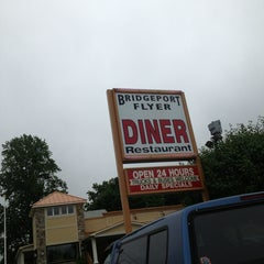 Photo taken at Bridgeport Flyer Diner by Divina & Eddy R. on 7/13/2013