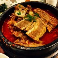Photo taken at Kim Baek Korean Restaurant by Jola Esguerra-Vallega on 10/12/2014