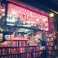 Photo taken at Kramerbooks & Afterwords Cafe by Shannon Y. on 2/27/2013