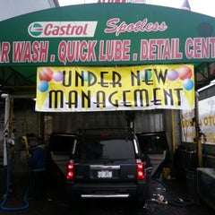 Photo taken at Spotless Car wash & Quick Lube by Jim P. on 1/13/2013