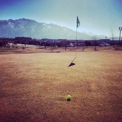 Photo taken at Mulligans Golf & Games by Cody S. on 3/10/2013