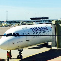 Photo taken at Gate D10 by Vitaly O. on 6/6/2014