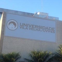 Photo taken at UVV - Universidade Vila Velha by Vinícius S. on 12/6/2012