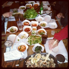 Photo taken at Myung San by Heather P. on 3/31/2013