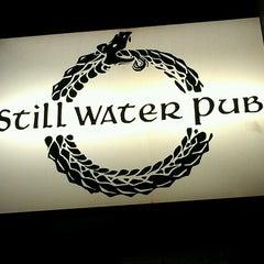 Photo taken at Stillwater Pub by Ryan M. on 9/7/2013
