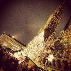 Photo taken at Christkindlmarkt by Stefanie H. on 12/19/2012
