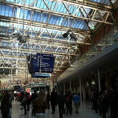 Photo taken at London Waterloo Railway Station (WAT) by Nana on 10/9/2012