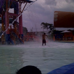 Photo taken at Citra Garden Water Park by DEwa L. on 3/29/2013