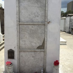 Photo taken at Tomb Of Marie Laveau by Abbie on 5/30/2015