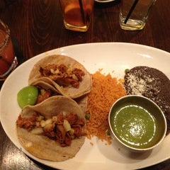 Photo taken at La Sandia - Tysons Corner by Arturo on 1/20/2013