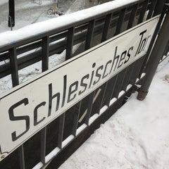 Photo taken at U Schlesisches Tor by Matthias R. on 1/22/2013
