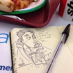 Photo taken at Sbarro by DivHiNO on 5/9/2014