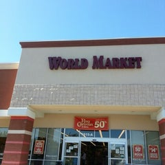 Photo taken at World Market by Glenn N. on 10/11/2012