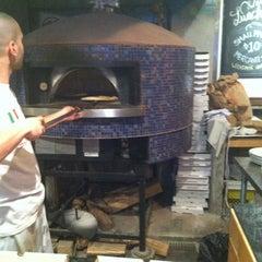 Photo taken at Pizzeria Via Mercanti by William M. on 11/22/2012