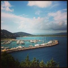 Photo taken at Marina Di Cala Galera by Giacomo G. on 8/1/2015