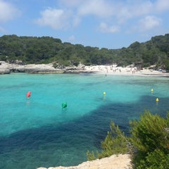 Photo taken at Cala Turqueta by Jose Luis P. on 6/11/2013