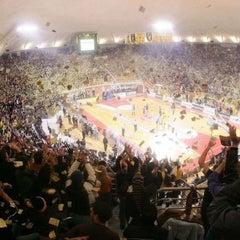 Photo taken at Αλεξάνδρειο Μέλαθρον (Palais des Sports) by Eleni L. on 1/2/2013