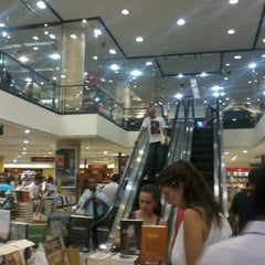 Photo taken at Saraiva MegaStore by Carla A. on 1/2/2013