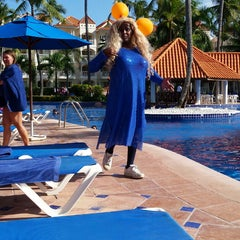 Photo taken at Barcelo Premium Pool by Amy on 11/24/2014