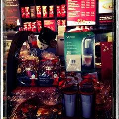 Photo taken at Starbucks by Edlira Y. on 11/16/2012