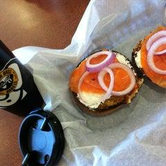 Photo taken at Einstein Bros Bagels by Sean M. on 11/4/2012