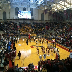 Photo taken at The Palestra by Jim S. on 2/16/2013
