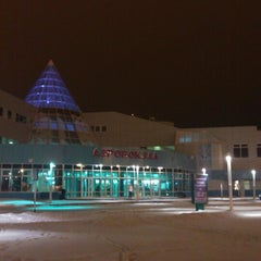 Photo taken at Международный аэропорт Ханты-Мансийск / Khanty-Mansiysk International Airport (HMA) by Artem G. on 11/9/2012