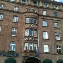 Das Foto wurde bei Le Méridien Grand Hotel Nürnberg von Güven A. am 6/8/2013 aufgenommen