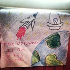 Photo taken at The Uptowner Cafe on Grand by Halle M. on 2/10/2013