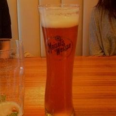 Photo taken at 1600 World Bier Haus by Chris on 1/28/2013
