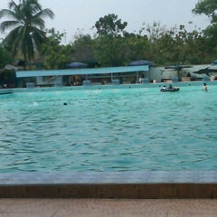 Photo taken at Tirta Wiguna Swimming Pool by D' K. on 9/16/2012
