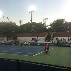Photo taken at Court 13 - USTA Billie Jean King National Tennis Center by Alexey M. on 9/6/2013