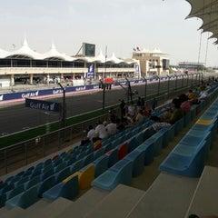 Photo taken at Bahrain International Circuit by Khalid A. on 4/19/2013