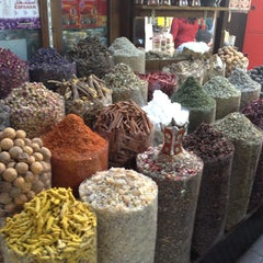 Photo taken at Spice Souq سوق البهارات by Pınar B. on 5/12/2013