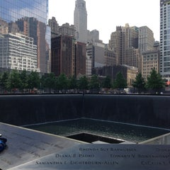 Photo taken at National September 11 Memorial & Museum by Victor on 6/11/2013