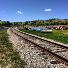 Photo taken at Wiscasset, ME by Chris W. on 5/23/2015