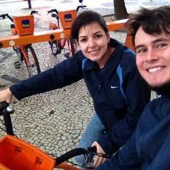Photo taken at BikeRio - Estação 05 by Leandro on 11/5/2013