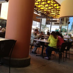 Photo taken at California Pizza Kitchen by Nastya on 5/14/2013