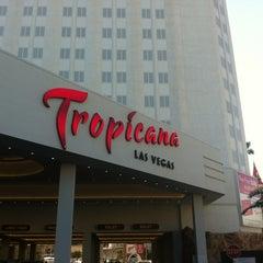 Photo taken at Tropicana Las Vegas by Fer S. on 2/12/2013