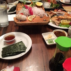 Photo taken at Sushi Boat by Paul B. on 8/25/2015