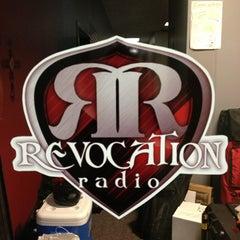 Photo taken at Revocation Radio Studio (http://myrevradio.com) by Keith L. on 1/2/2013