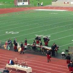 Photo taken at University of Charleston Stadium at Laidley Field by Emily W. on 9/24/2013